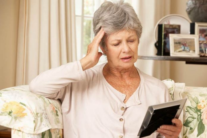 A silent stroke can cause memory loss.