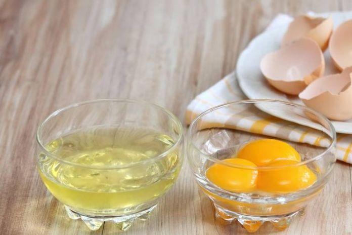 Egg heals and strenghtens skin. Lemon lightens.