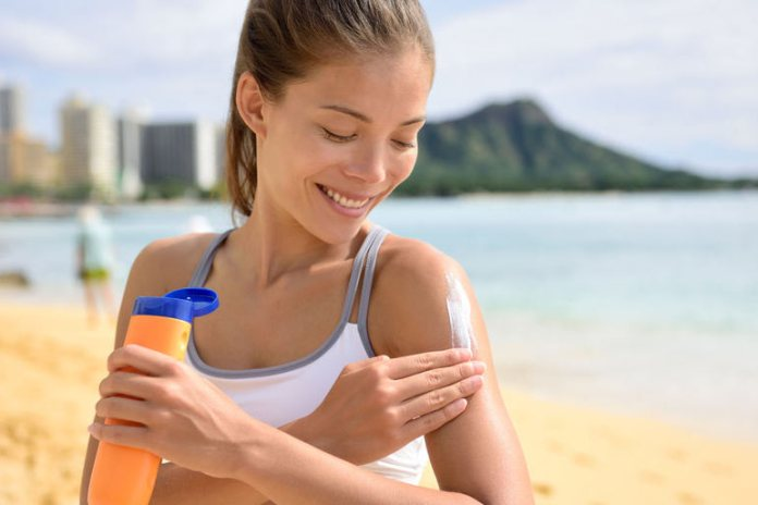 Use the right sunscreen.