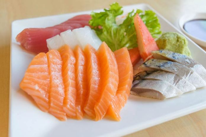 Salmon and other seafood are rich in omega-3 fats