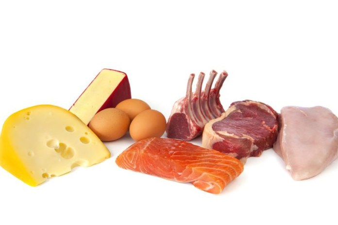 Any form of lean meat or fish source are excellent to lose weight from