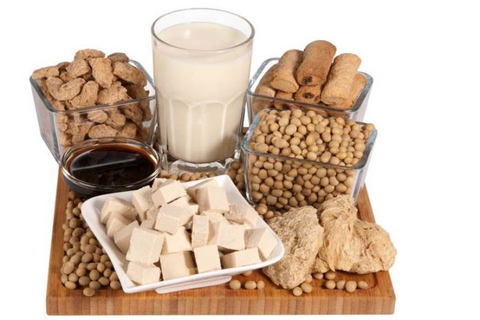 Soy is high in oligosaccharides, which increases gas buildup