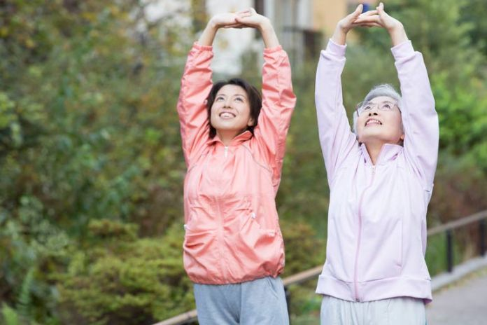 Being physically active reduces your mortality rate