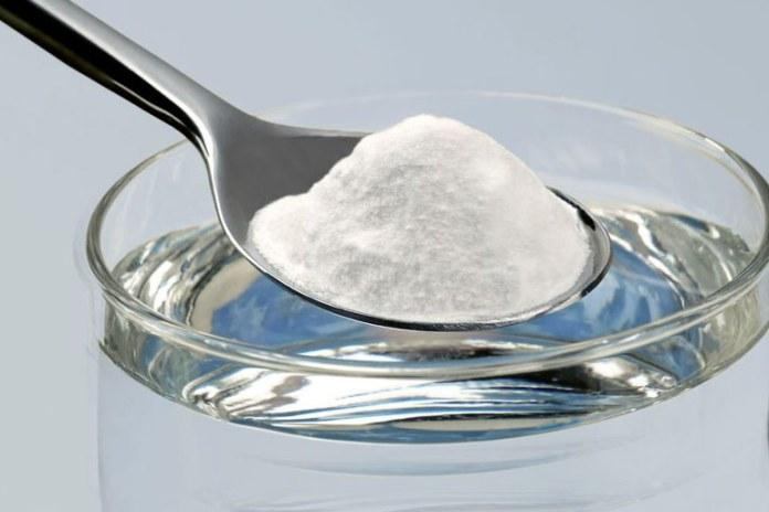 Baking soda helps neutralize stomach acid.