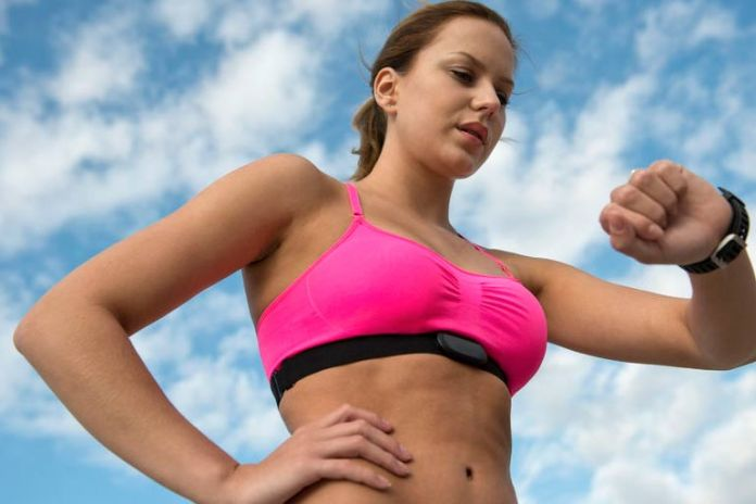 Small breasts don't jiggle and are comfortable during workout.