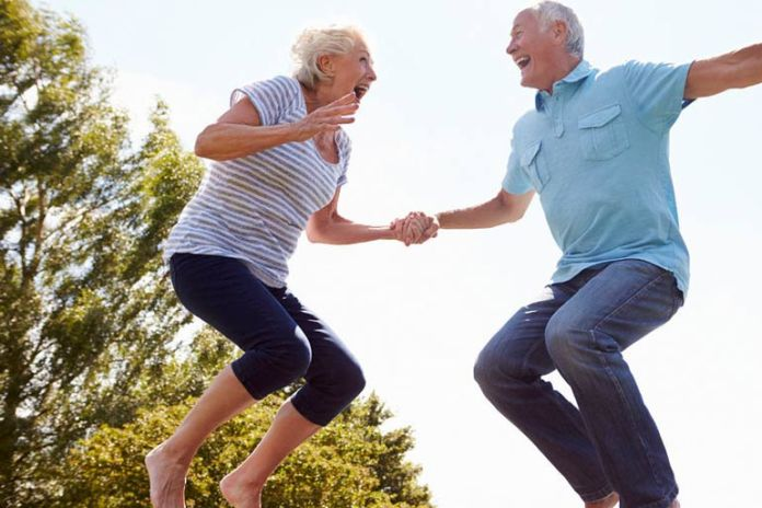 Stay young at heart to keep your body young