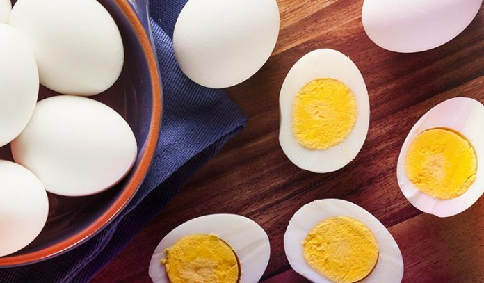 Eggs contain dioxin but also contain vitamin A which negates the effect of dioxin.)