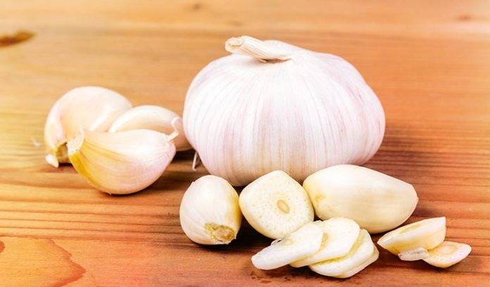 (Have raw garlic in salads or as a salad dressing.