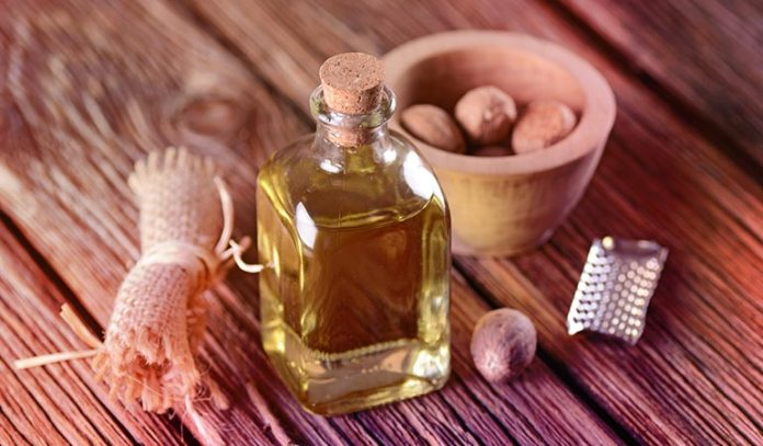 Nutmeg oil is one of the active ingredients of Vicks Vapor Rub)