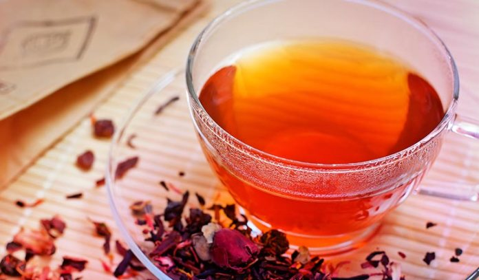 Caffeine in tea can make you pee more frequently