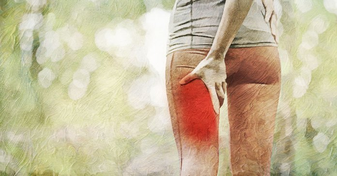 symptoms of pulled hamstring