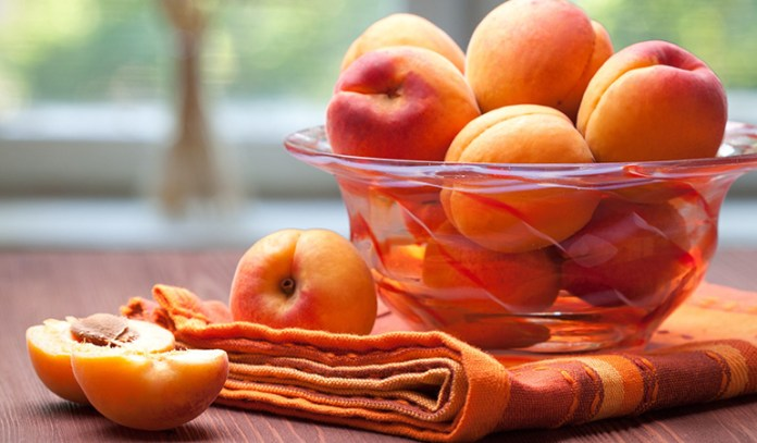 Apricots are rich in vitamins A and C