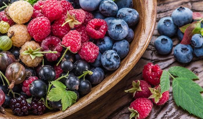 Berries fight free-radical damage
