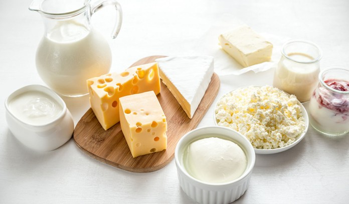 Dairy products are abundant in iodine
