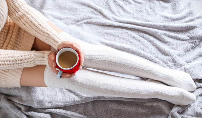 Drinking coffee or tea before bed can also cause disturbed sleep since caffeine is a natural stimulant