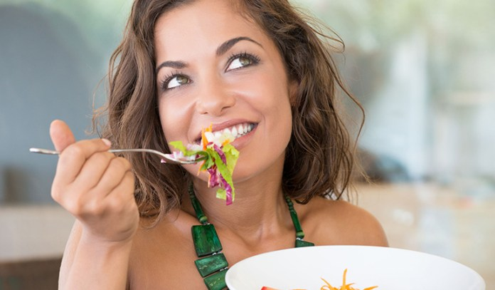 Eating clean helps cleanse the body of toxins.