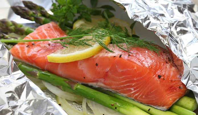Farm-raised salmon could cause prostate cancer.