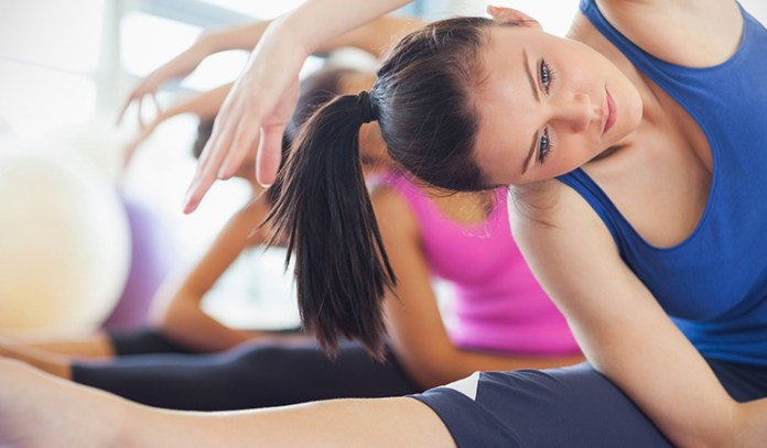 how Pilates exercises can help you correct a stiff neck