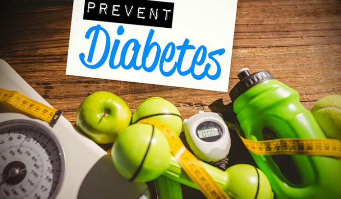Prevent prediabetes by eating healthy, exercising regularly, and quitting smoking
