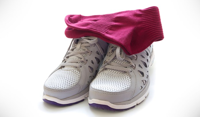 Copper-Infused Socks And Shoes Can Help Smelly Feet