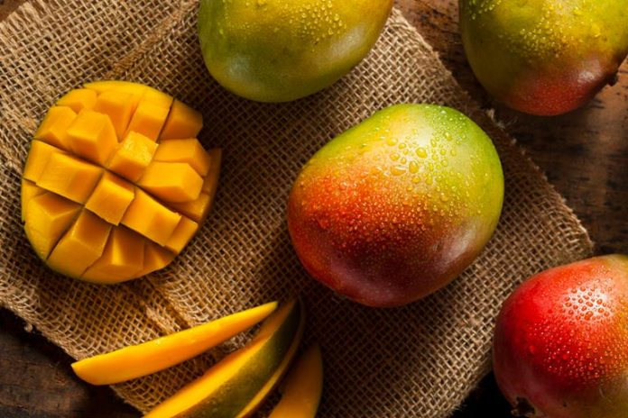 Mangoes may contain certain chemicals that are used to prevent it from rotting