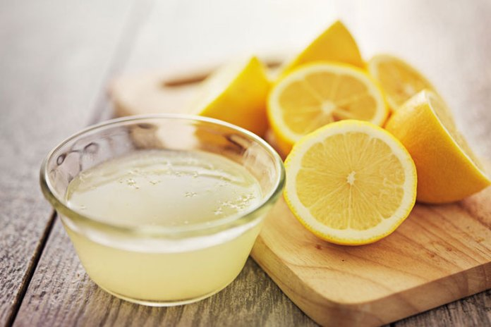 Lemon helps lighten skin tone and complexion