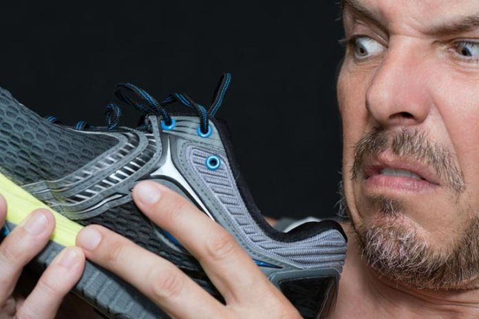 ever ignore stinky feet as it could be a sign of athlete's foot