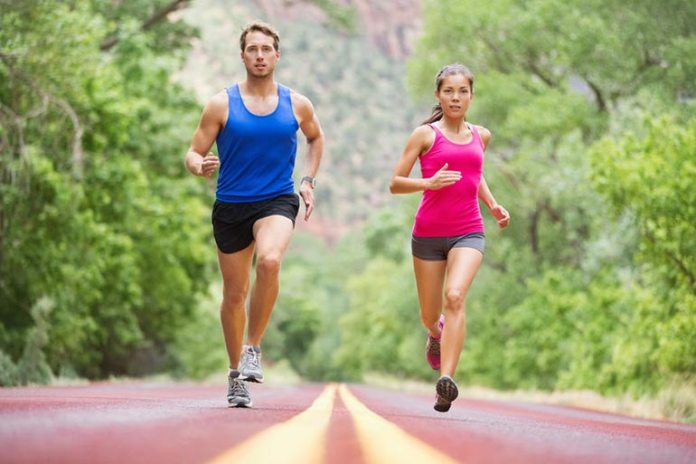 You may lose water and electrolytes when you run.