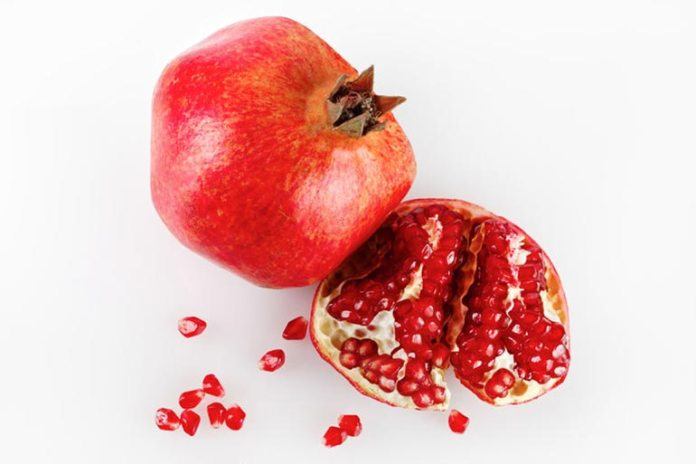 Pomegranate peels are great for the skin