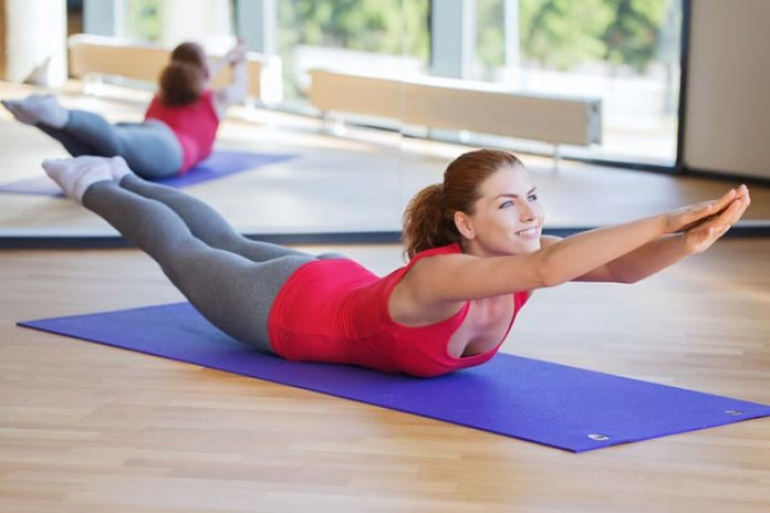 A static hold that will help tone your back