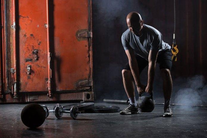 Goblet squats keep your torso upright