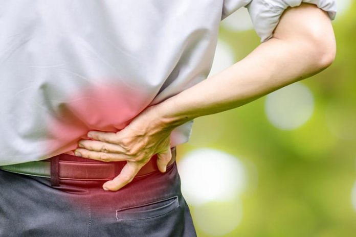 Back pain may occur when taking supplements
