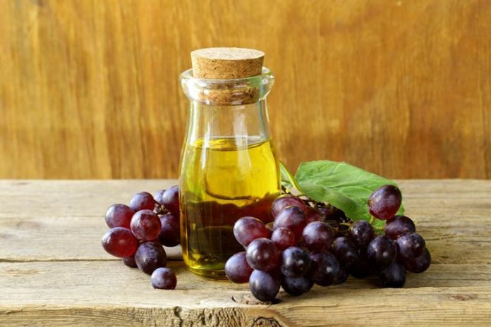 Grape seed oil is ideal for massages