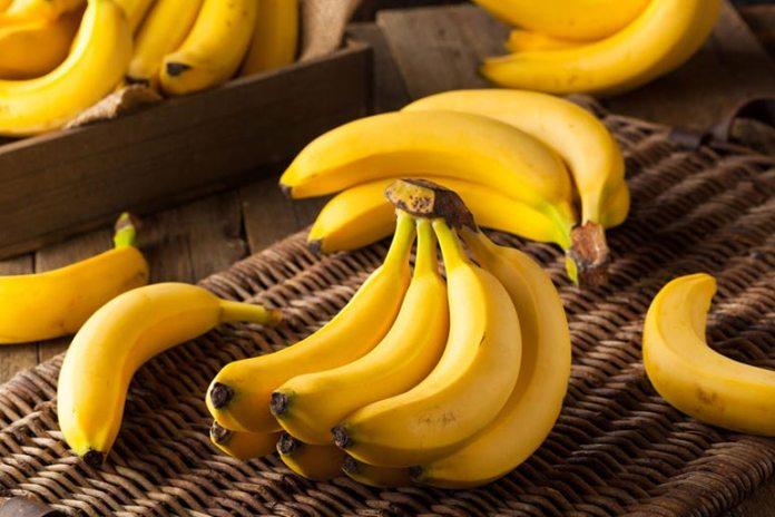 Bananas contain serotonin which is a mood enhancer