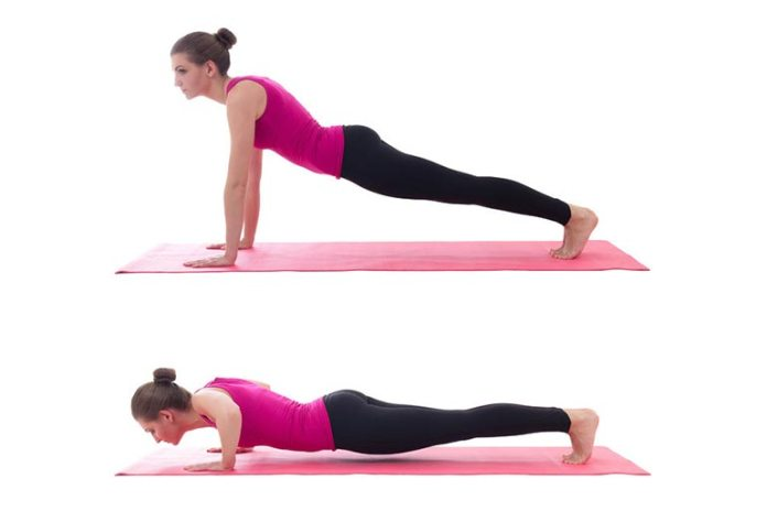 This exercise will strengthen your chest and your back
