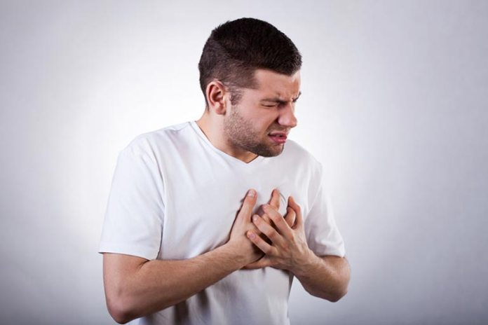 A heartburn is often confused with chest pain as it occurs in the same area
