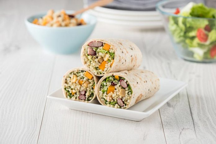Is a great lunch wrap with or without meat