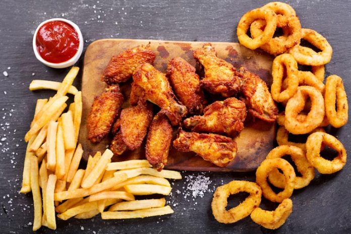 Do not consume fried food as they can have chemical pan residue