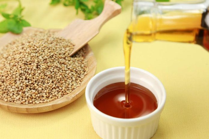 Sesame oil is a great antioxidant