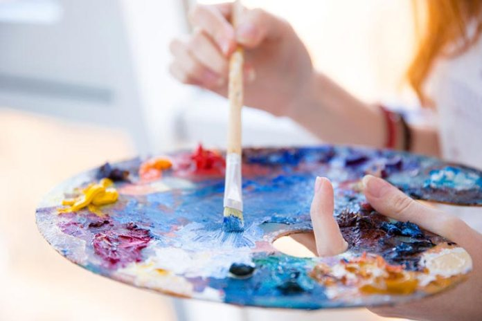 Paints can be a good pass time