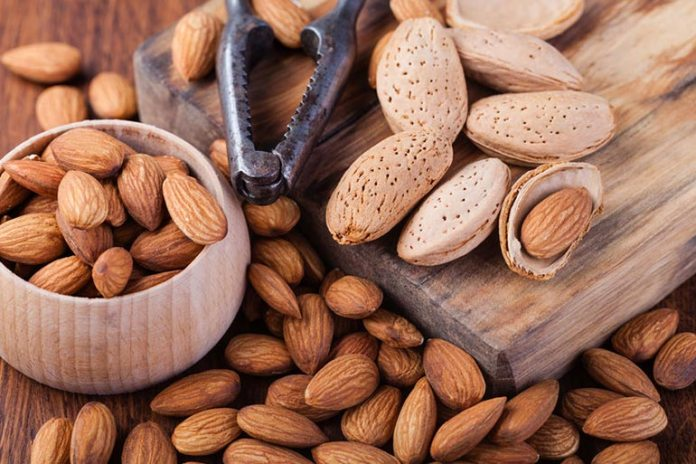Almonds help rejuvenate the skin and prevent dullness