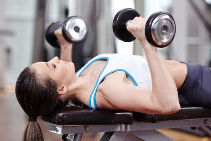 Chest presses improve posture.