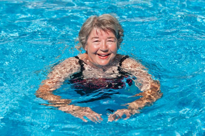 Swimming Is An Ageless Exercise