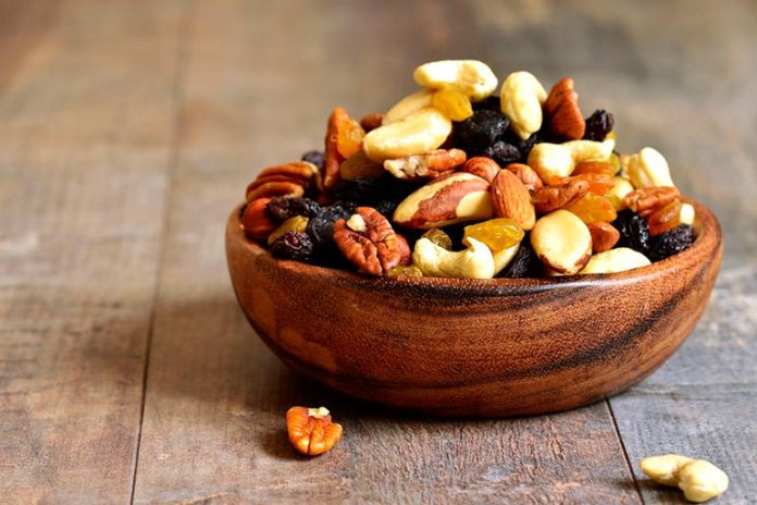Nuts are delicious and heart healthy.