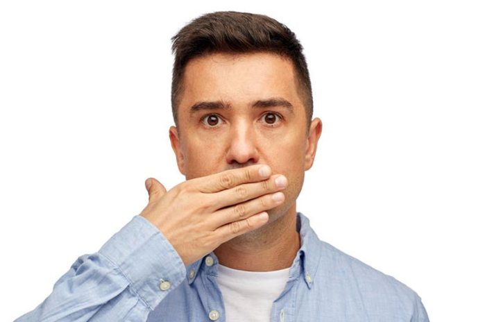 Never ignore bad breath as it could be a sign of sleep apnea