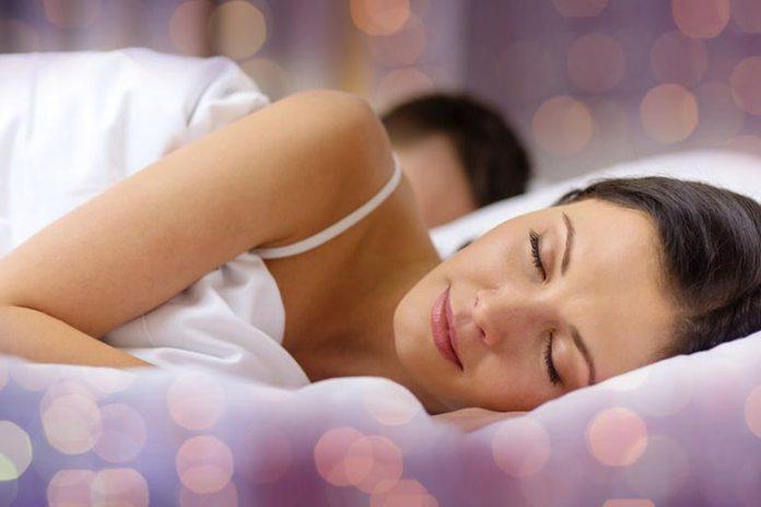 Sleeping well means skin repair and rebuilding