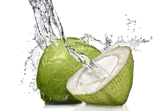 Coconut water has natural electrolytes which give you an energy boost.