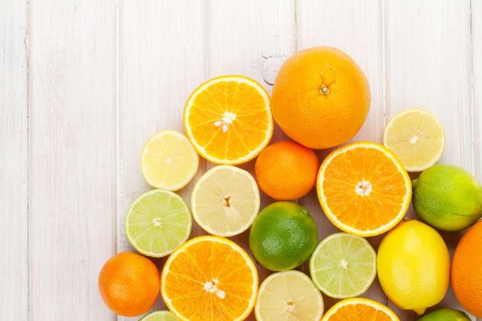 Citrus fruits contain vitamin C which helps enhance your mood