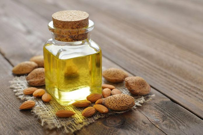 The subtle sweet flavor of almond oil is essential for a massage