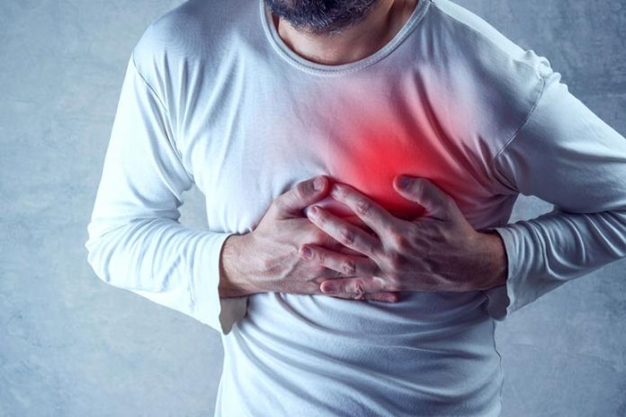 Fish oil may cause chest pain.